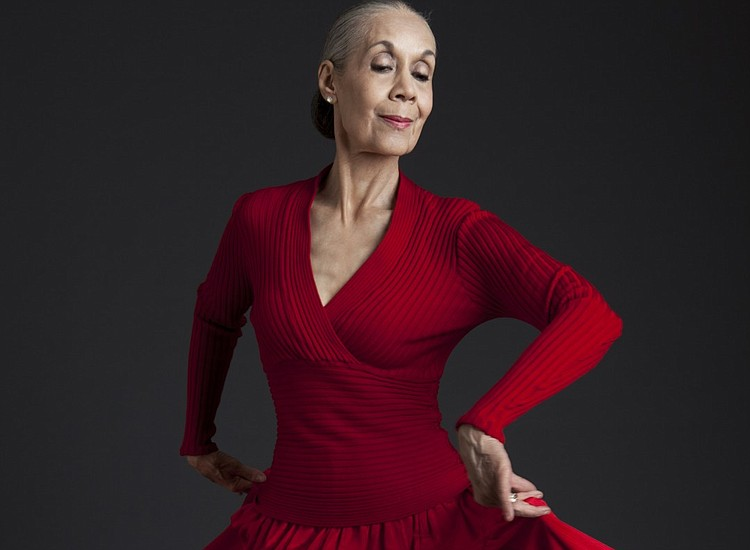 Carmen de Lavallade, the 86-year-old dancer, choreographer and actress being