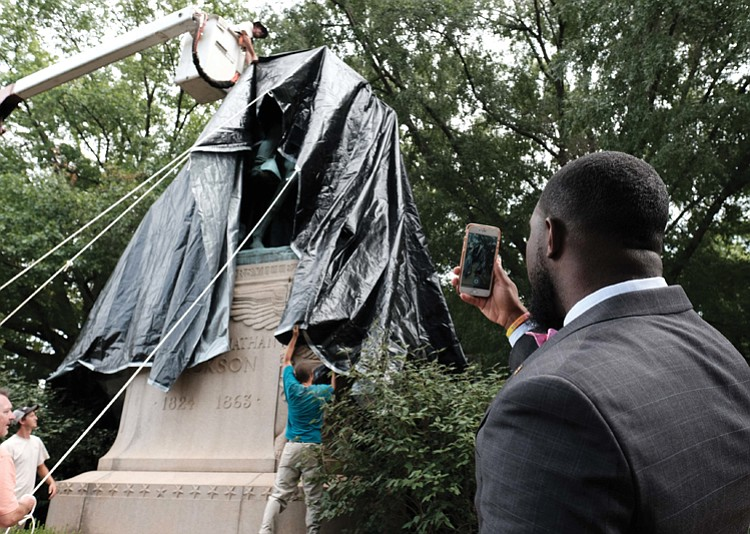 Local officials want to remove Confederate monuments - but states won't let them