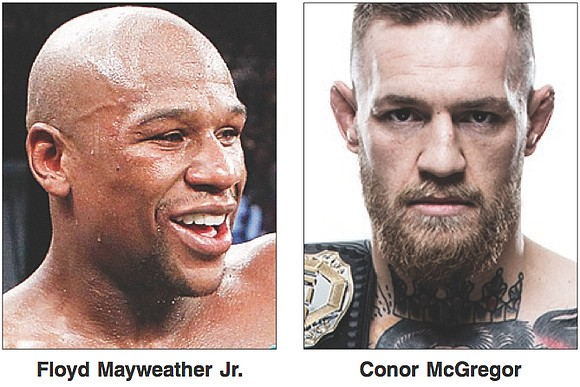 "Cha-ching! The Saturday, Aug. 26, blockbuster — Floyd Mayweather Jr. versus Conor McGregor — is advertised as the ""Money Fight"" ..."