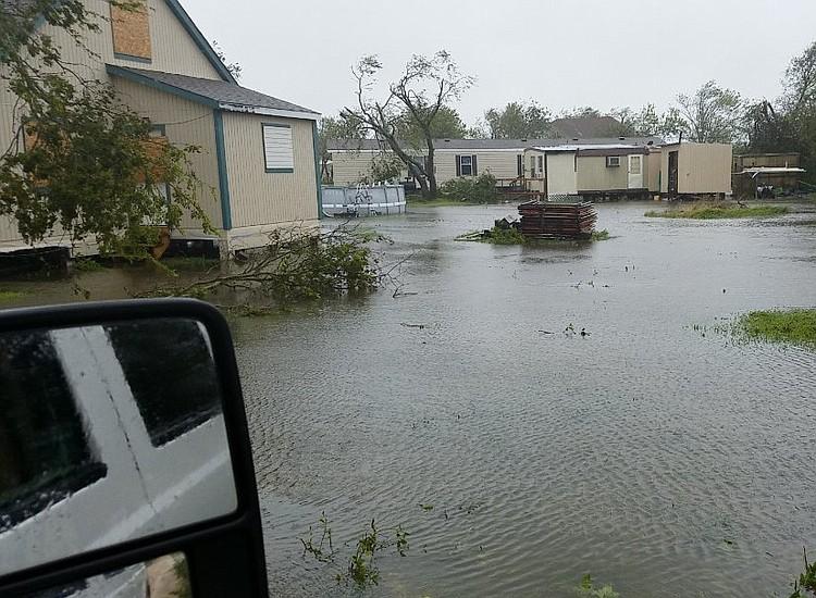 Days after Harvey struck, Houston Mayor Sylvester Turner struck an optimistic tone on Thursday,