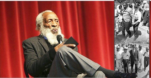 """Dick Gregory was an activist and creative genius who knew the struggle for liberation could only take flight if prominent ..."