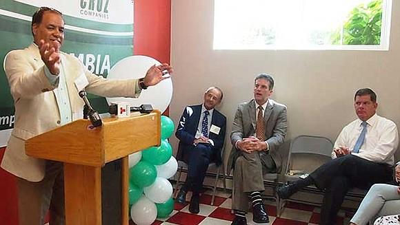 Cruz Companies President and CEO John Cruz joined Mayor Martin Walsh, state Housing Secretary John Ash and state Sen. Linda ...