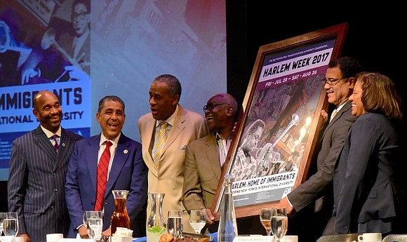 Harlem Week hosted dignitaries as they attended their tremendous Economic Development Day,