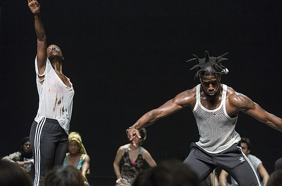 African contemporary choreographers/performers command this month's calendar.