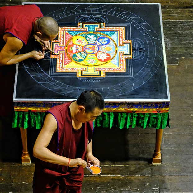 Sands of Tibetan time //