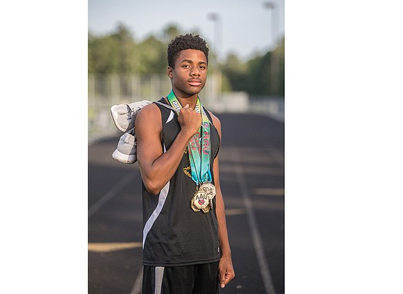 Jayson Ward has added another impressive track title to his growing collection. The 13-year-old Chesterfield County resident now has two ...