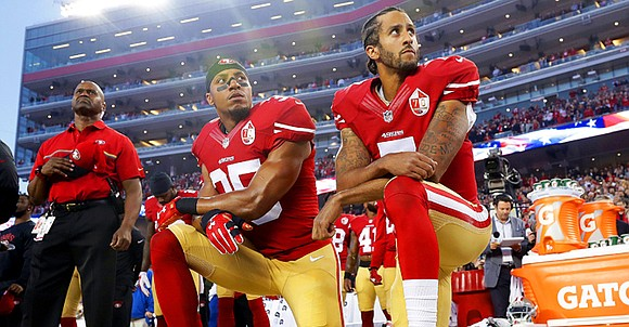 San Francisco 49ers safety Eric Reid has resumed kneeling during the national anthem after joining then-teammate Colin Kaepernick in his ...
