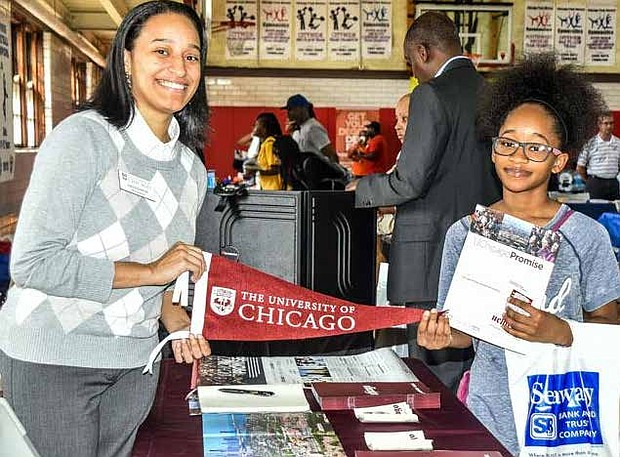 In honor of the late Silas Purnell, who died 14 years ago, the Chesterfield Community Council (CCC) will host its 13th Annual Silas Purnell College Expo on September 16, 11:00 a.m. at Tuley Park Field house on 90th & King Drive. The event exposes high school students to various college opportunities. Photo Credit: