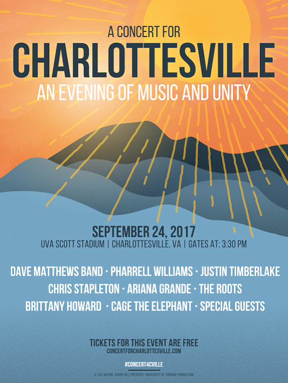 In response to the recent events in their hometown of Charlottesville, VA, Dave Matthews Band will host an evening of ...