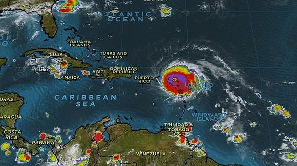 As Hurricane Irma's eye roars away from the tiny island of Barbuda and toward St. Martin, residents along its path ...