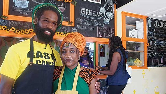 Last week, Jahriffe MacKenzie and Nahdra Ra Kiros opened Oasis Vegan Veggie Parlor, serving breakfast, lunch and dinner with stews, ...