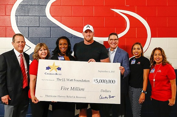 Charles Butt, H-E-B Chairman and CEO, today announced a personal, $5 million contribution to the Justin J. Watt Foundation's Houston ...