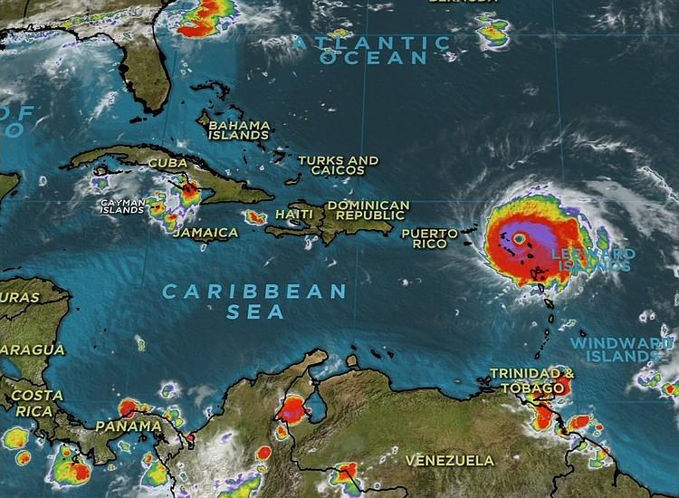 Hurricane Irma slams Caribbean islands as it heads toward