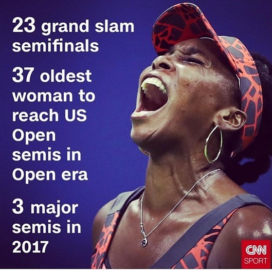 Venus Williams is the definition of longevity. It was 16 years ago that the 37-year-old won the last of her ...
