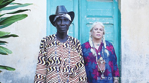 'Bight of the Twin,' a documentary that takes viewers to the west African nation of Benin to explore the origins of the Voodoo religion, and where friends and collaborators Hazel Hill McCarthy III and Genesis Breyer P-Orridge explore the relationship between Voodoo and Western secular art and performance.