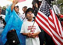 A rally in favor of immigration reform at the White House in Washington, D.C. brings out Michael Claros, 8, of Silver Spring, Md., whose parents would have been eligible for DAPA, or Deferred Action for Parents of Americans, an Obama era policy memo that the Trump administration has since formally revoked.  (AP Photo)