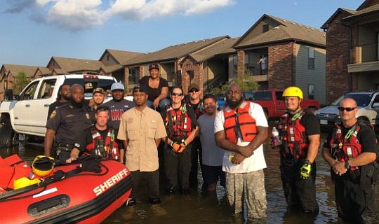 Houston rapper Chamillionaire dropped two major announcements Tuesday morning as he continues to help Texas get back on its feet ...