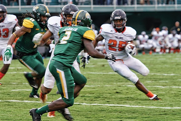 Virginia State University continues knocking out its football opponents — even those in a larger division. Under Coach Reggie Barlow, ...