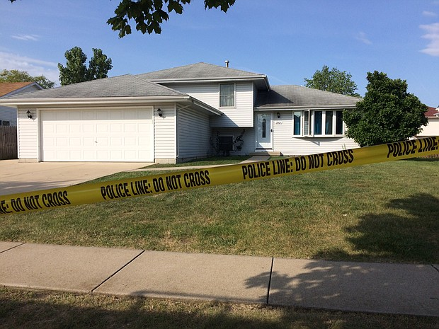 Joliet police are investigating the deaths as homicides after three adult bodies were found in a home in the city's far-west side.