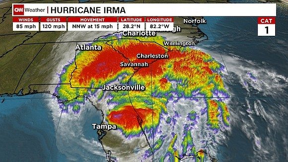 Millions of people from coast to coast in Florida are waking up without power Monday as Hurricane Irma rumbles north, ...