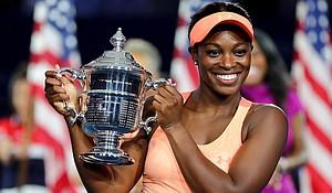 U.S. Open Women's Singles Champion Sloane Stevens (photo via latimes.com)