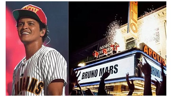 """Bruno Mars is teaming up with CBS and Atlantic Records for his first primetime television special: """"Bruno Mars: 24K Magic ..."""