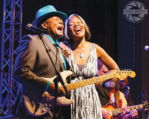 Norman 'Boogie Cat' Sylvester and his daughter Lenanne Miller will once again front the Uptown Dance Party celebrating Sylvester's and the late B.B. King's shared birthday, Saturday, Sept. 16 at the Adrianna Hill Grand Ballroom, downtown.