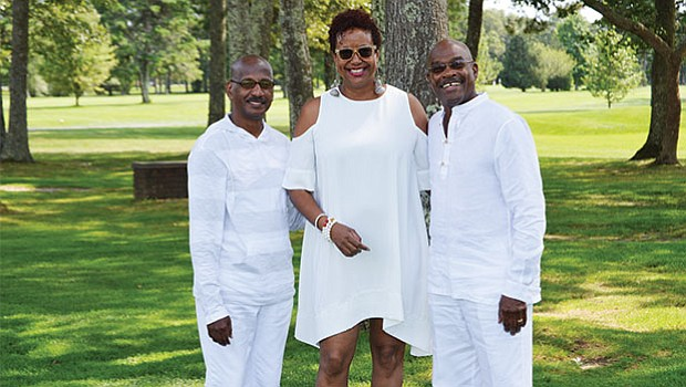 Charles Evans, Harriette Cole and Paul Glass at the 17th Annual Morrison Golf Classic Sponsored by Toyota