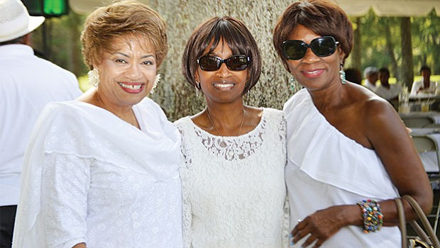 Carole Copeland Thomas, Charlene Greene and Rosaline Lowe at the 17th Annual Morrison Golf Classic Sponsored by Toyota