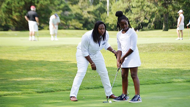 Kellie Tiller and Madison Mitchell at 17th Annual Morrison Golf Classic Sponsored by Toyota