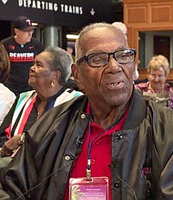 Lawrence Brooks turned 108 years old, and once again, one of the country's top-rated museums put on a nice party in his honor, complete with a performance from the famed Victory Belles.