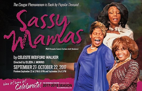 The Ensemble Theatre brings back sizzling romantic comedy Sassy Mamas, by Houston playwright Celeste Bedford Walker and directed by Eileen ...