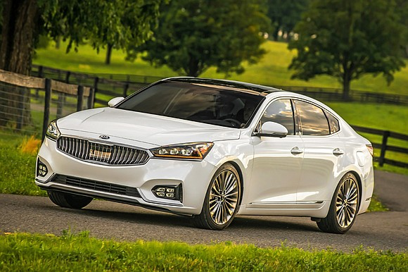 Kia's Cadenza falls just short of being a full size sedan but it is an all premium car.