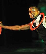 Paris, a.k.a. the Hip-Hop Juggler