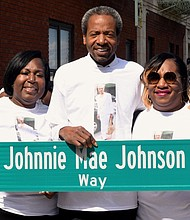 Family of Johnnie Mae Johnson