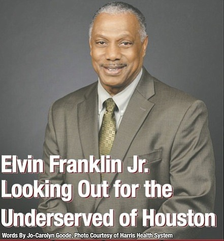 Never forget from whence you came was a principle that a young Elvin Franklin Jr. learned at church. It is ...