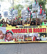 Rally for Mugabe