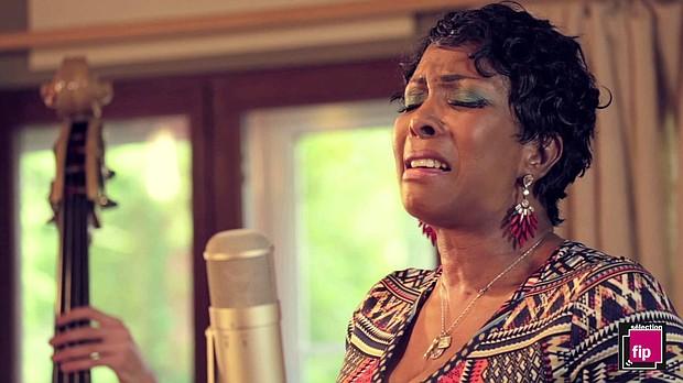 Memphis vocalist Toni Green.