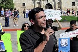 "The Texas State Board of Education is hearing public testimony on advocate and professor Tony Diaz's book ""The Mexican American ..."