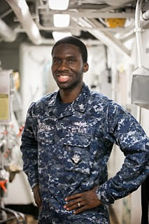 A Bayton, Texas native and 2008 Ross S. Sterling High School graduate is serving in the U.S. Navy aboard the ...