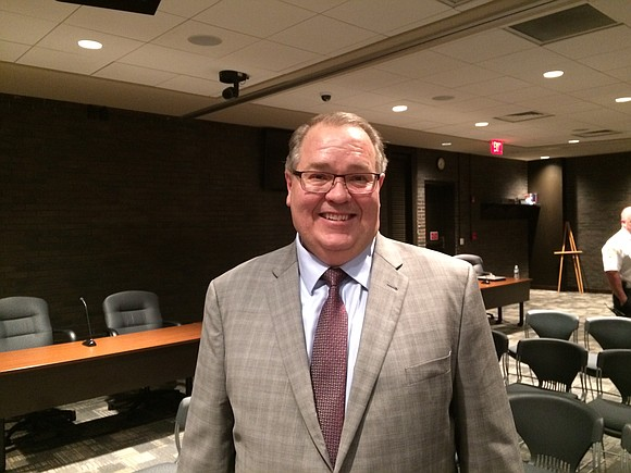 "In a statement released Thursday, new Joliet city manager David Hales' actions are cited for alerting authorities to ""unlawful activity ..."