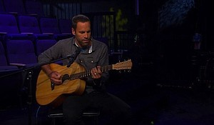 """Jack Johnson, former pro surfer-turned-acoustic guitar strummer has recorded the ultimate soundtrack to laid-back living from his home on the North Shore of Oahu in Hawaii. But in the age of Donald Trump, Johnson's aloha spirit may have soured a bit on his latest album """"All the Light Above It Too."""""""