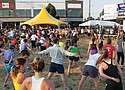 """Participants warm up for the MLK Dream Run. The sixth annual event honing Dr. Martin Luther King Jr. and his """"I Have a Dream"""" speech returns on Sunday, Sept. 24."""