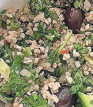 Ari LeVaux has a tactic for making tabbouleh that will blow the doors off of any other you've tried.
