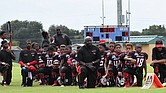 Beaumont Bulls kneel in protest, coaches get suspended, students death threats.