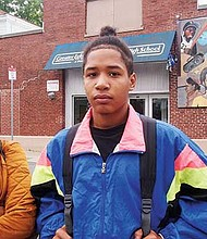 Yocasta Baez and Andrew Martinez say they discovered they were no longer enrolled at Greater Egleston High School after showing up for classes there.
