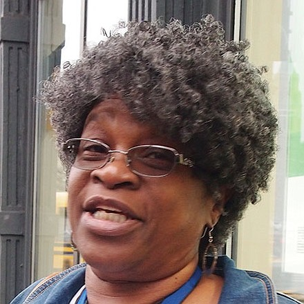 I actually have to. I'm a warden. It's important that we all exercise our civil freedoms.—Karen Powell-Vinson, ,Head Account Clerk, Roxbury