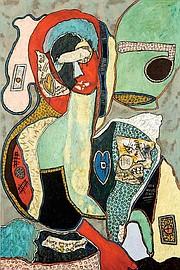 """""""La Madonna Cachée"""" by Colette Brésilla."""