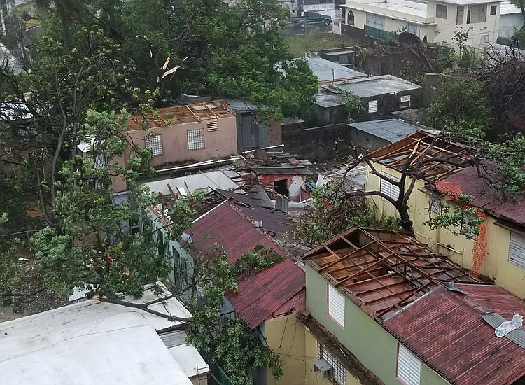 Governor Cuomo Goes To Puerto Rico To Assist Storm Aftermath