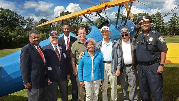The New England Tuskegee Airmen in partnership with the Collings Foundation